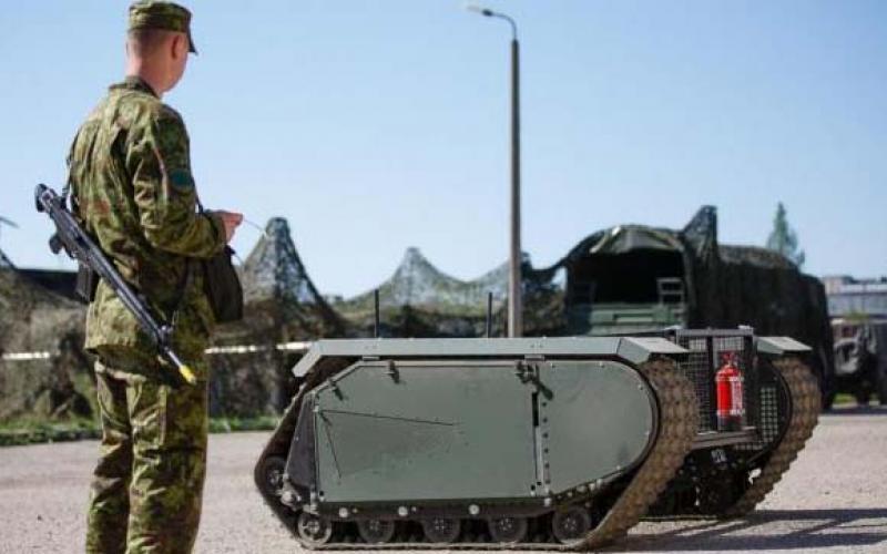L'unité estonienne va déployer des drones terrestres Cropes10