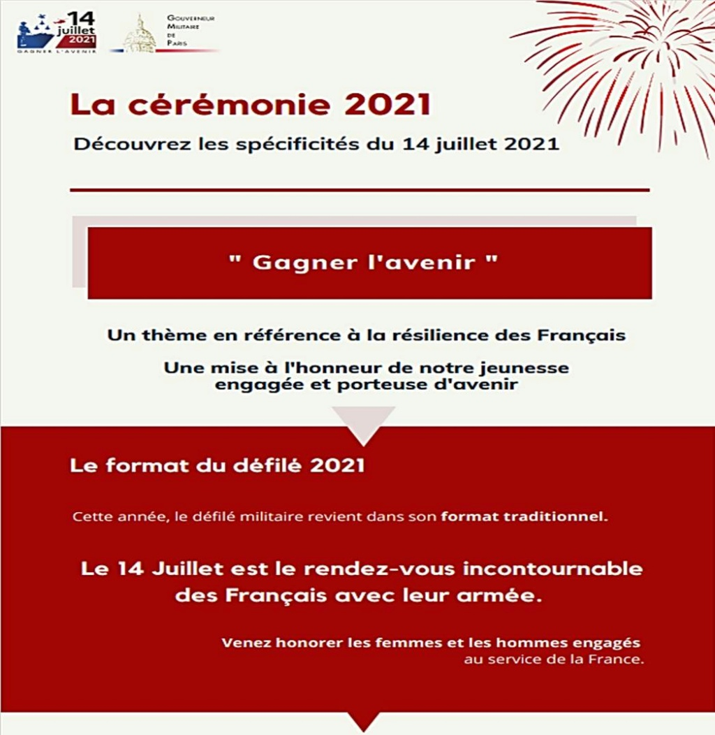 Défilés 14 juillet 2021, Paris - nombreux replays Czorzo10