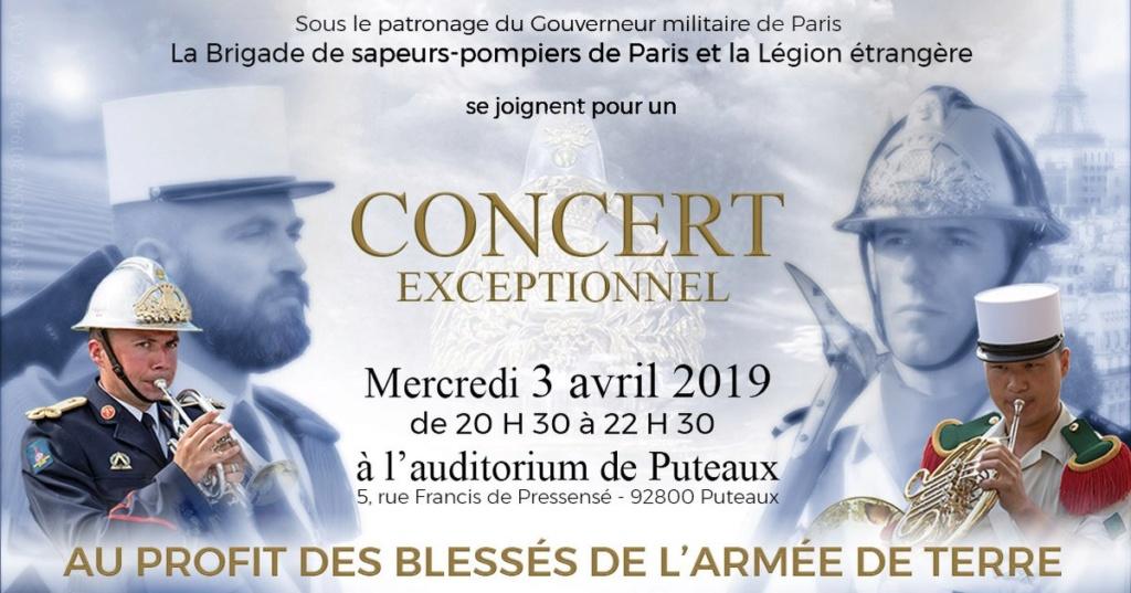 Concert caritatif BSPP et Légion à Puteaux, 03/04/2019  D1jpvw10