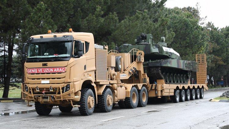 Un nouveau porte-char BMC Otomotiv pour l Altay turc D5uvho10