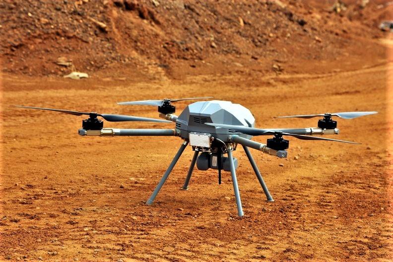 L'unité estonienne va déployer des drones terrestres D7kqbm12