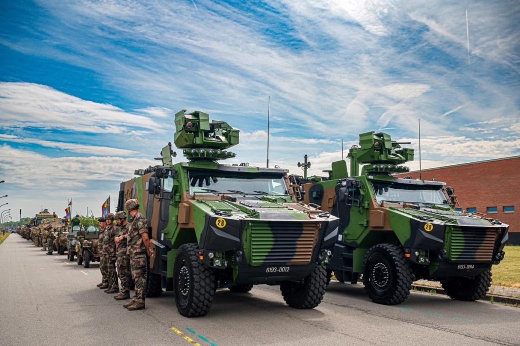 Défilé militaire 2019 de la fête nationale belge 21 juillet D_0vox10