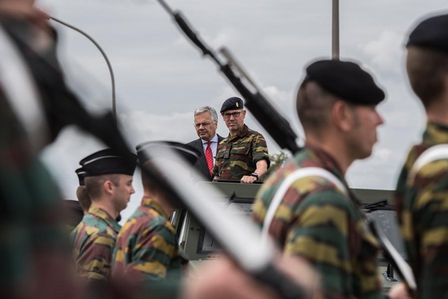 Défilé militaire 2019 de la fête nationale belge 21 juillet D_haen10