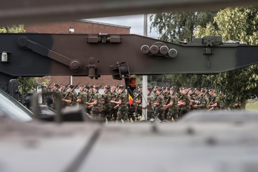 Défilé militaire 2019 de la fête nationale belge 21 juillet D_haen11