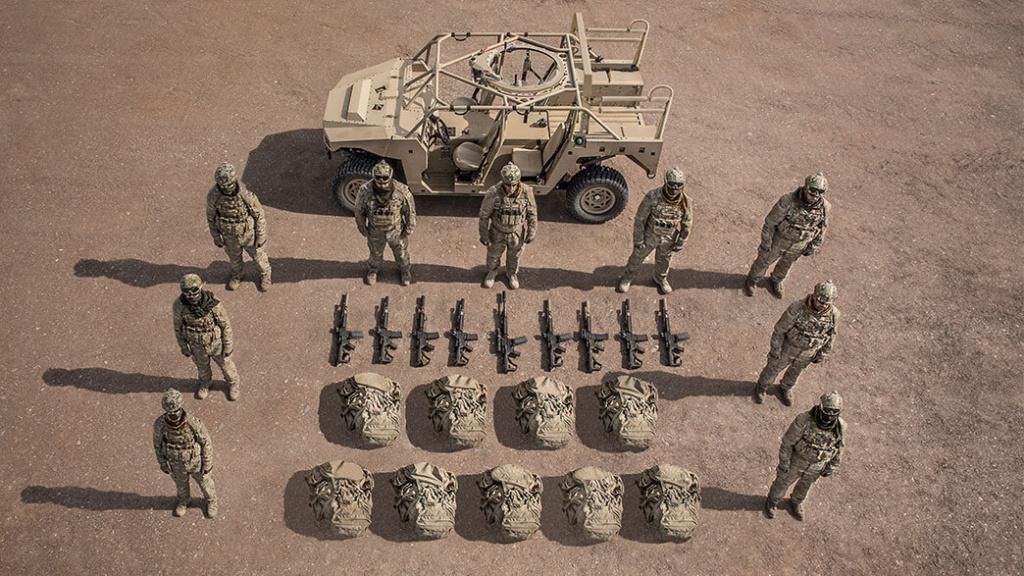 Les Dagor des forces d'opérations spéciales canadiennes Dagor-17