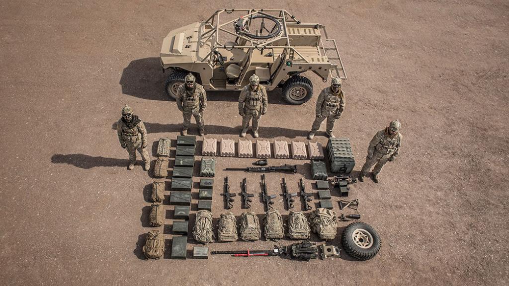 Les Dagor des forces d'opérations spéciales canadiennes Dagor-18
