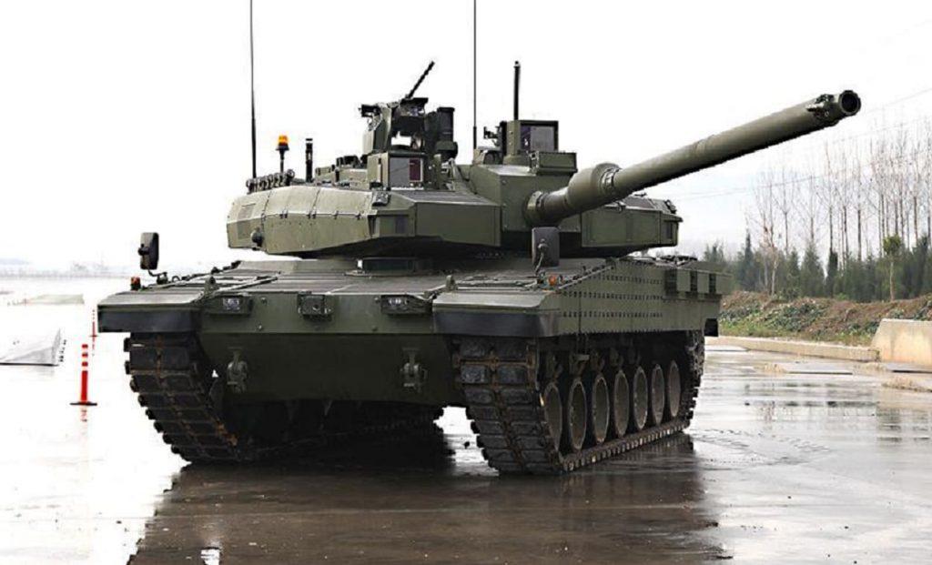 Des chars turcs Altay pour le Qatar Db_u2x10