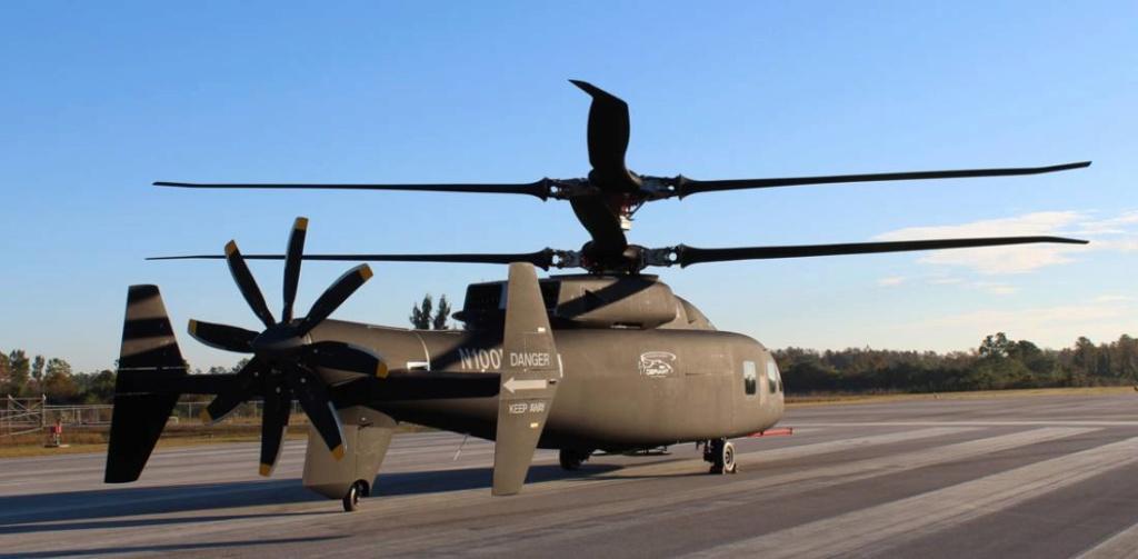 L'hélicoptère SB-1 Defiant a réalisé son premier vol Defian11