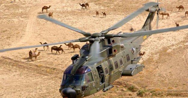 En décembre 2 hélicoptères lourds danois pour Barkhane Denmar10