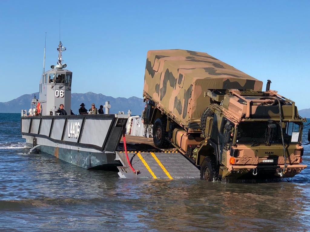 Des camions Rheinmetall - MAN pour l'armée australienne Detzxk10