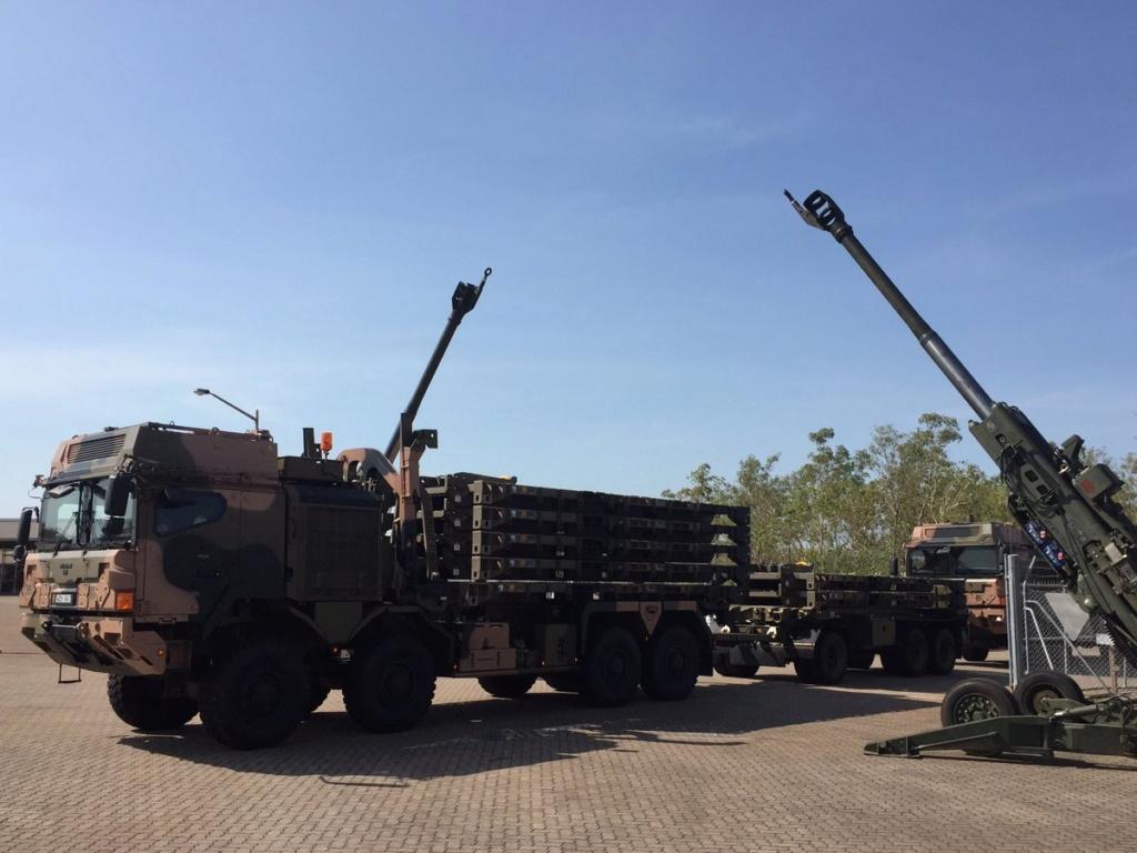 Des camions Rheinmetall - MAN pour l'armée australienne Dkoiuu10