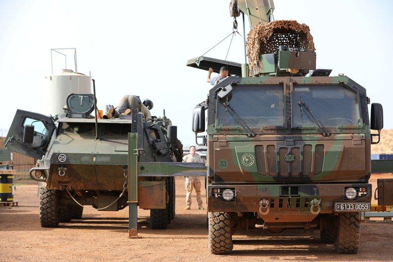 50 soldats estoniens auprès de la France au Mali Dmakft10