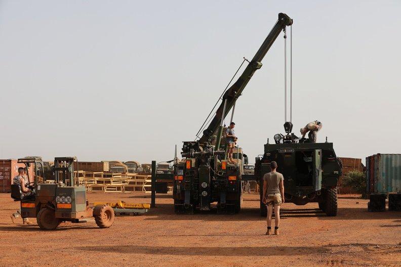 50 soldats estoniens auprès de la France au Mali Dmakgj10