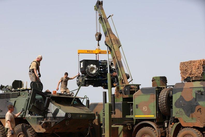 50 soldats estoniens auprès de la France au Mali Dmakiy10