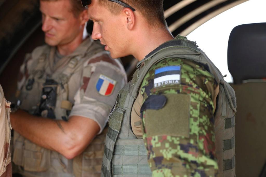 50 soldats estoniens auprès de la France au Mali Dmu-fc10