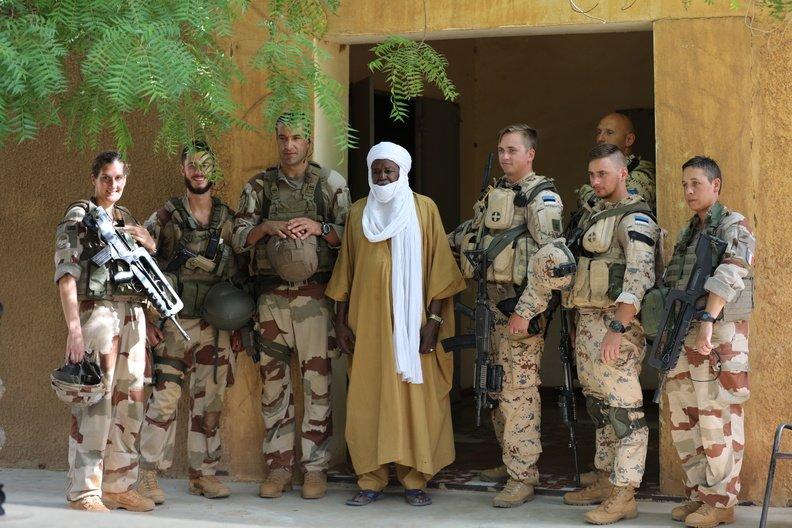 50 soldats estoniens auprès de la France au Mali Dmzd6l10