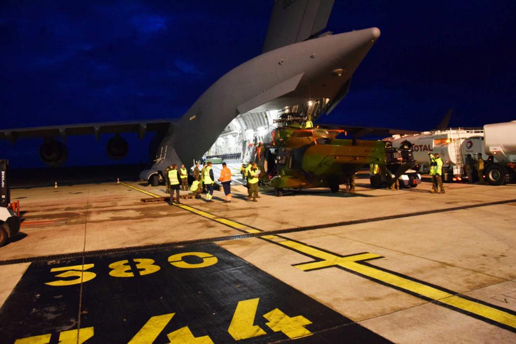 Premier convoyage d'un Caïman par C17 de l'USAF Dsc_0411