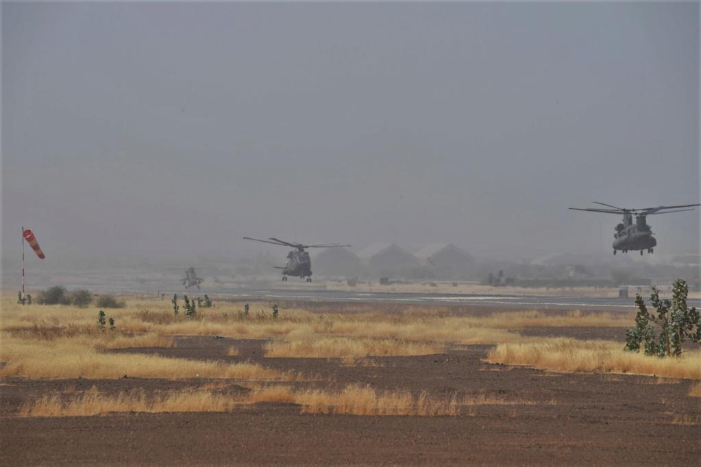 En décembre 2 hélicoptères lourds danois pour Barkhane Dsc_3512