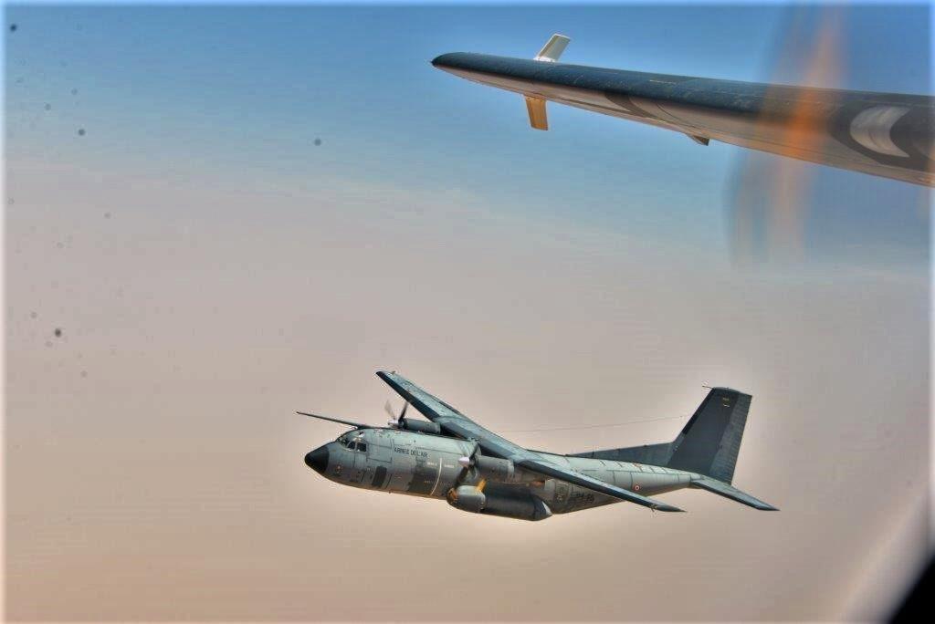 Exercice aéro-terrestre pour la base d'Aguelal au Niger Dsc_5310