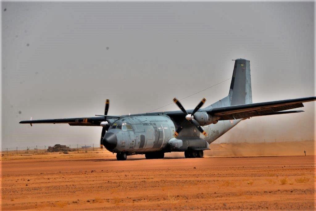 Exercice aéro-terrestre pour la base d'Aguelal au Niger Dsc_5410