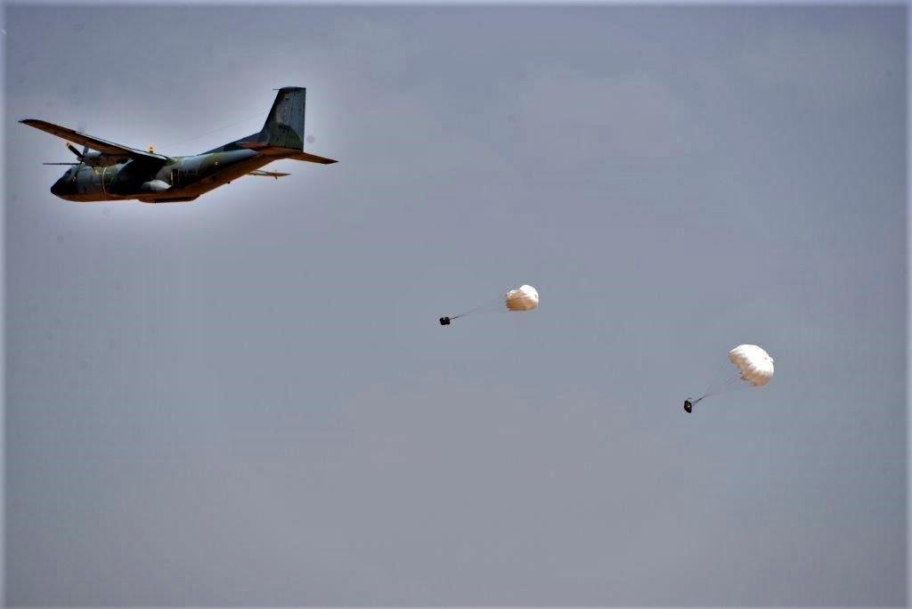Exercice aéro-terrestre pour la base d'Aguelal au Niger Dsc_5511