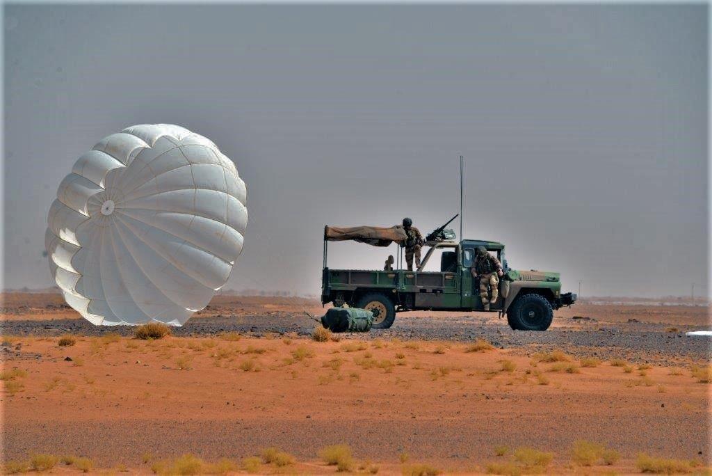 Exercice aéro-terrestre pour la base d'Aguelal au Niger Dsc_5610