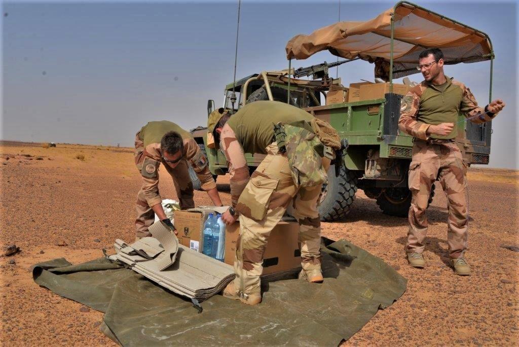 Exercice aéro-terrestre pour la base d'Aguelal au Niger Dsc_5611