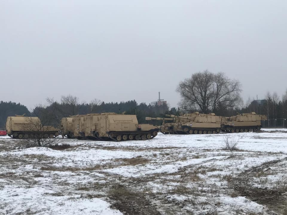 Acheminements de la 1 ArBde US pour Atlantic Resolve Dx8sy-10