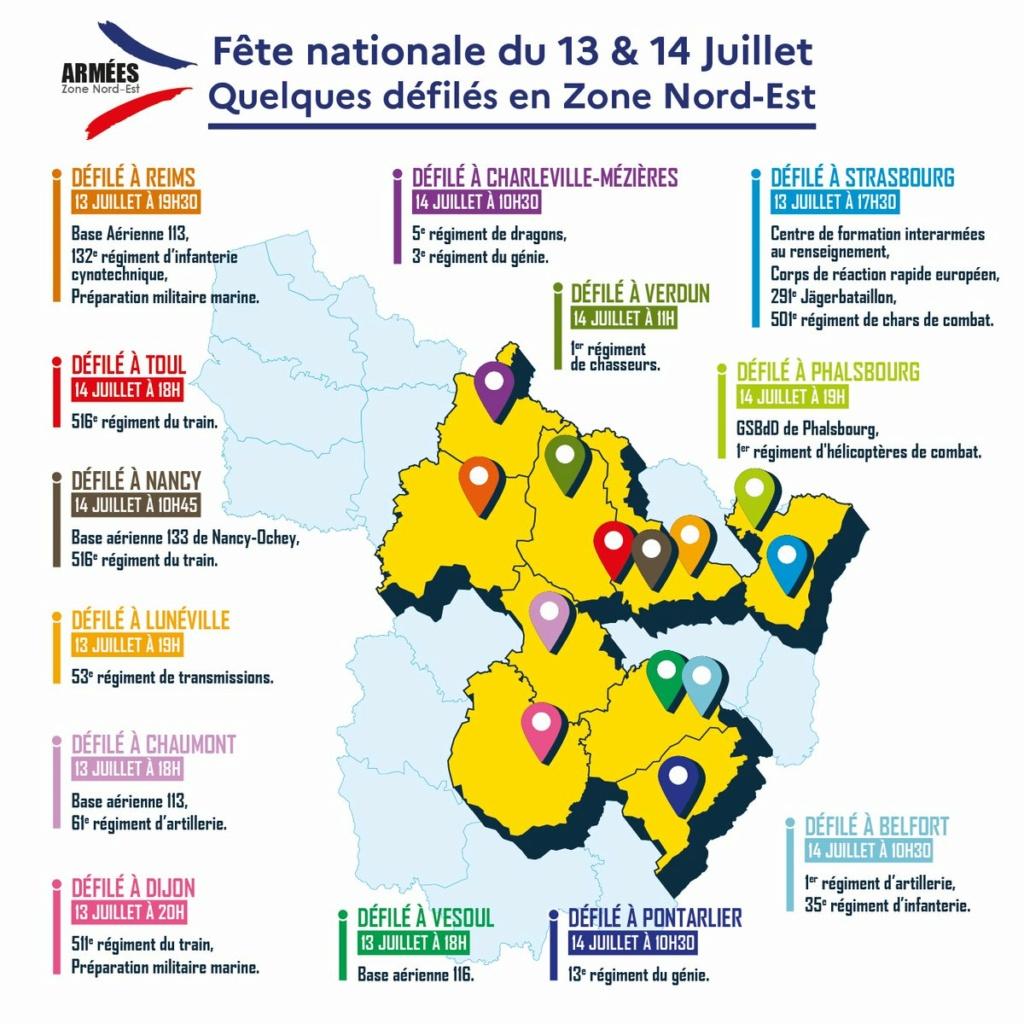 Fête nationale des 13 & 14 juillet en zone Nord-Est E6gq5g10