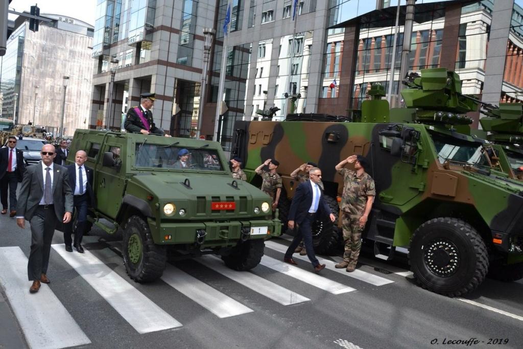 Défilé militaire 2019 de la fête nationale belge 21 juillet Eabgip10