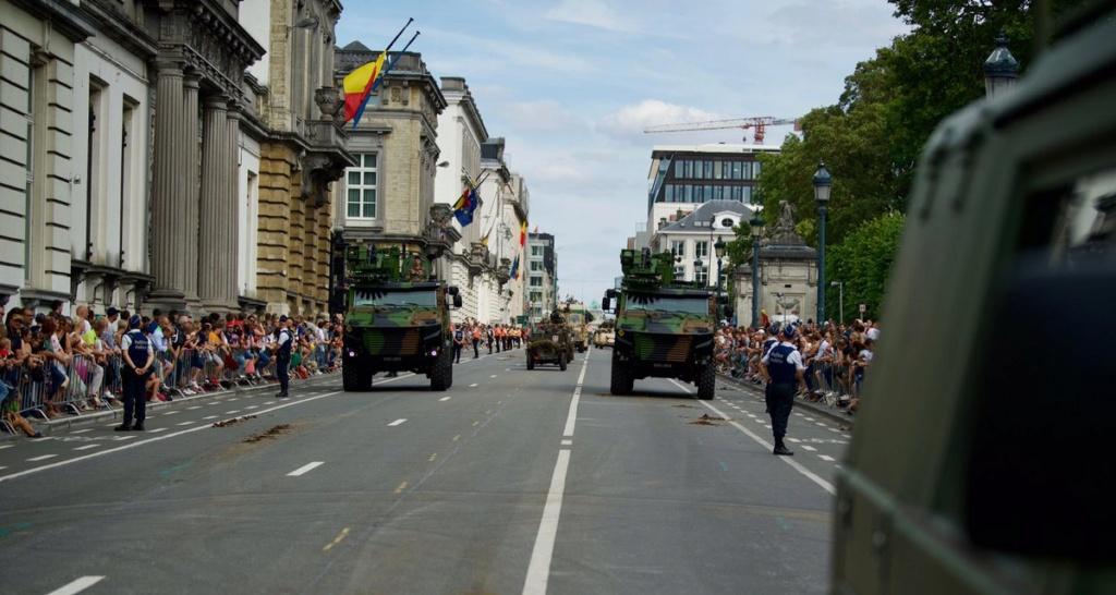 Défilé militaire 2019 de la fête nationale belge 21 juillet Eabsgz10
