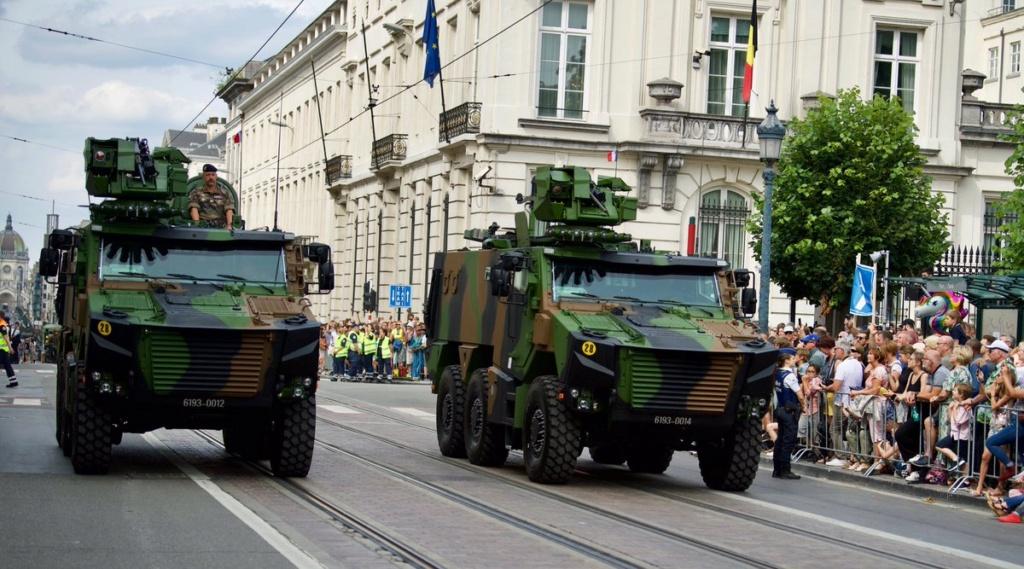 Défilé militaire 2019 de la fête nationale belge 21 juillet Eabsgz11
