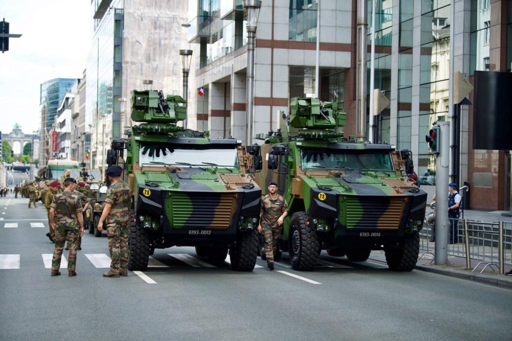 Défilé militaire 2019 de la fête nationale belge 21 juillet Eabsgz12
