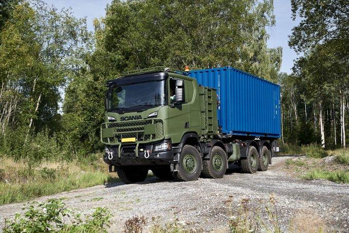 De nouveaux camions pour l'armée finlandaise Eevsnr10