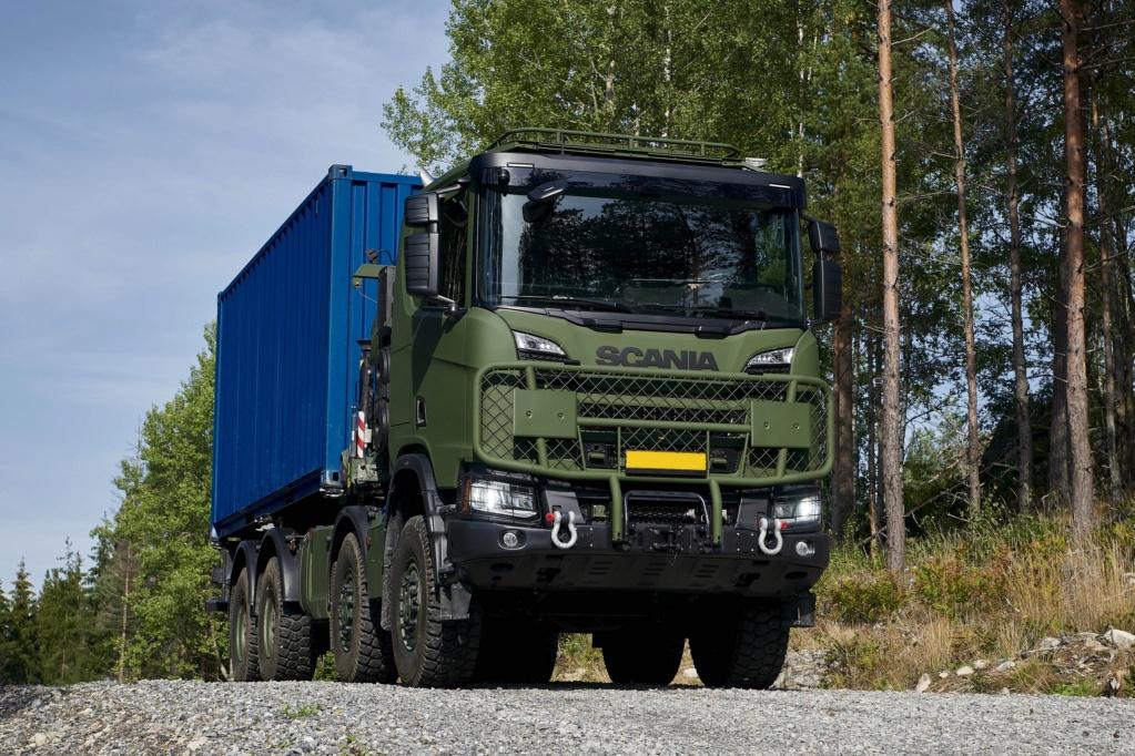 De nouveaux camions pour l'armée finlandaise Eevulu11