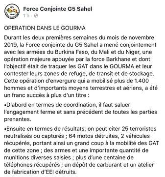 Opération réussie dans le Gourma pour le G5 Sahel Ejidjl10