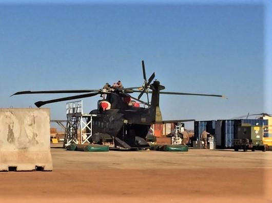 En décembre 2 hélicoptères lourds danois pour Barkhane El7eag10