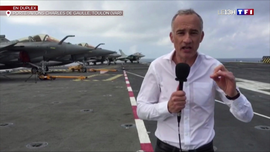 "Replay JT TF1 ""Le Charles reprend la mer"" Emmanu10"