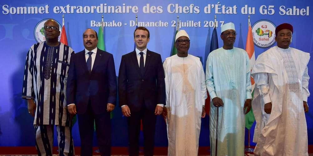 La France pourrait revoir son déploiement au Sahel si... Emmanu11