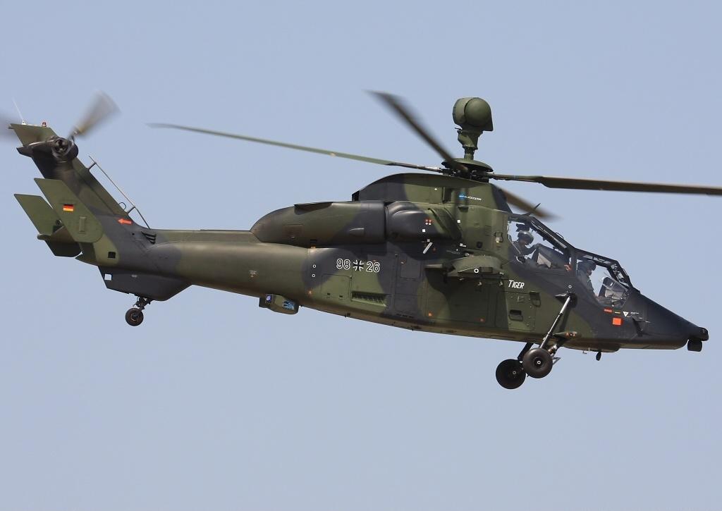 Crash d'un Tigre allemand de la MINUSMA près de Gao Euroco11