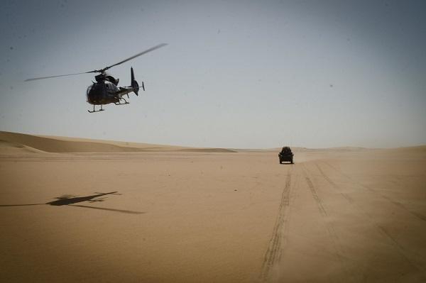 Opération dans le Liptako, une Gazelle hors service Gazell12