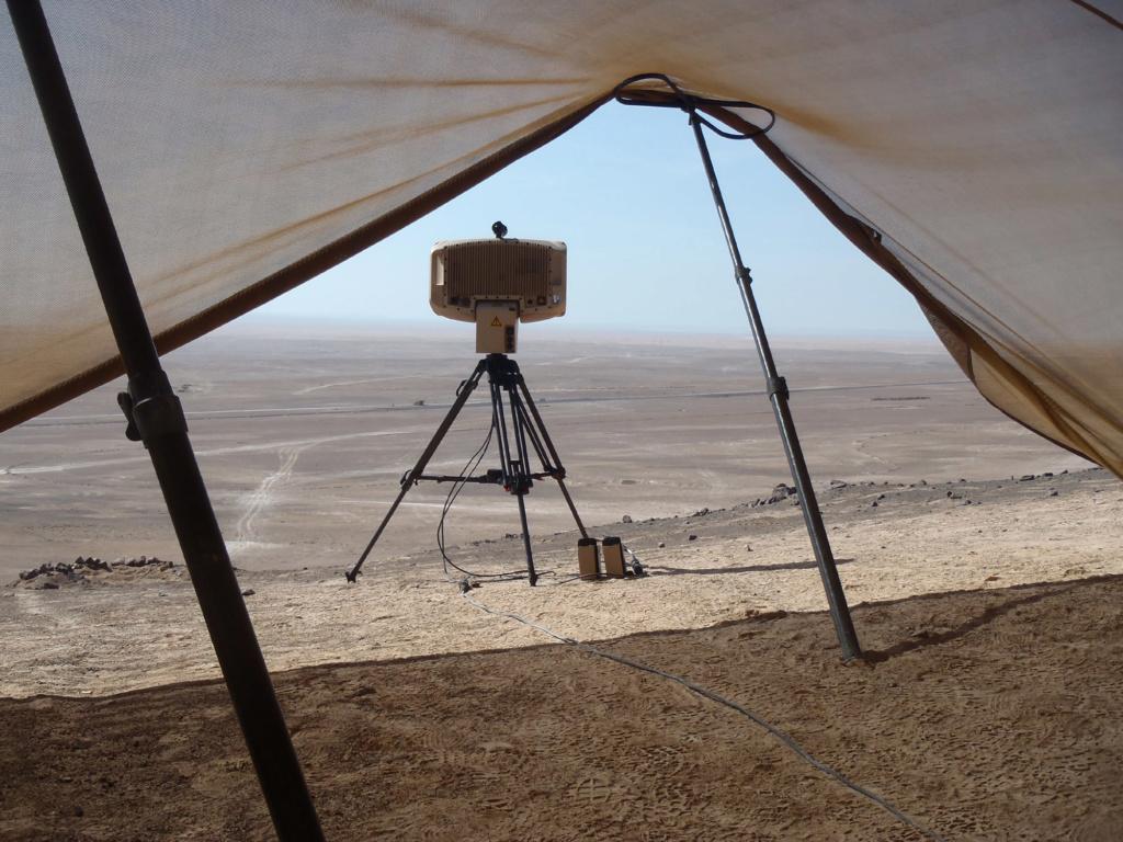 Le MURIN, le nouveau radar tactique en action à Barkhane Go1210