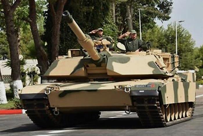 Dernière livraison de chars Abrams pour le Maroc Image129