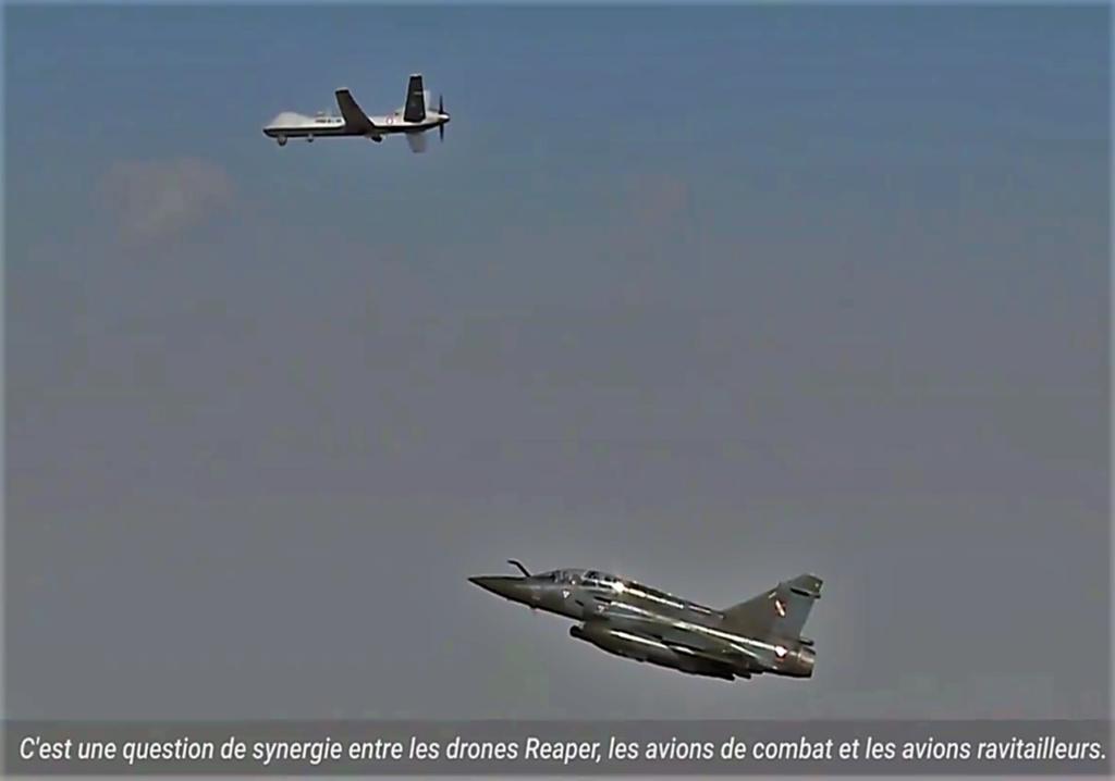 Chasseurs et drones, un binôme complémentaire pour Barkhane Image189
