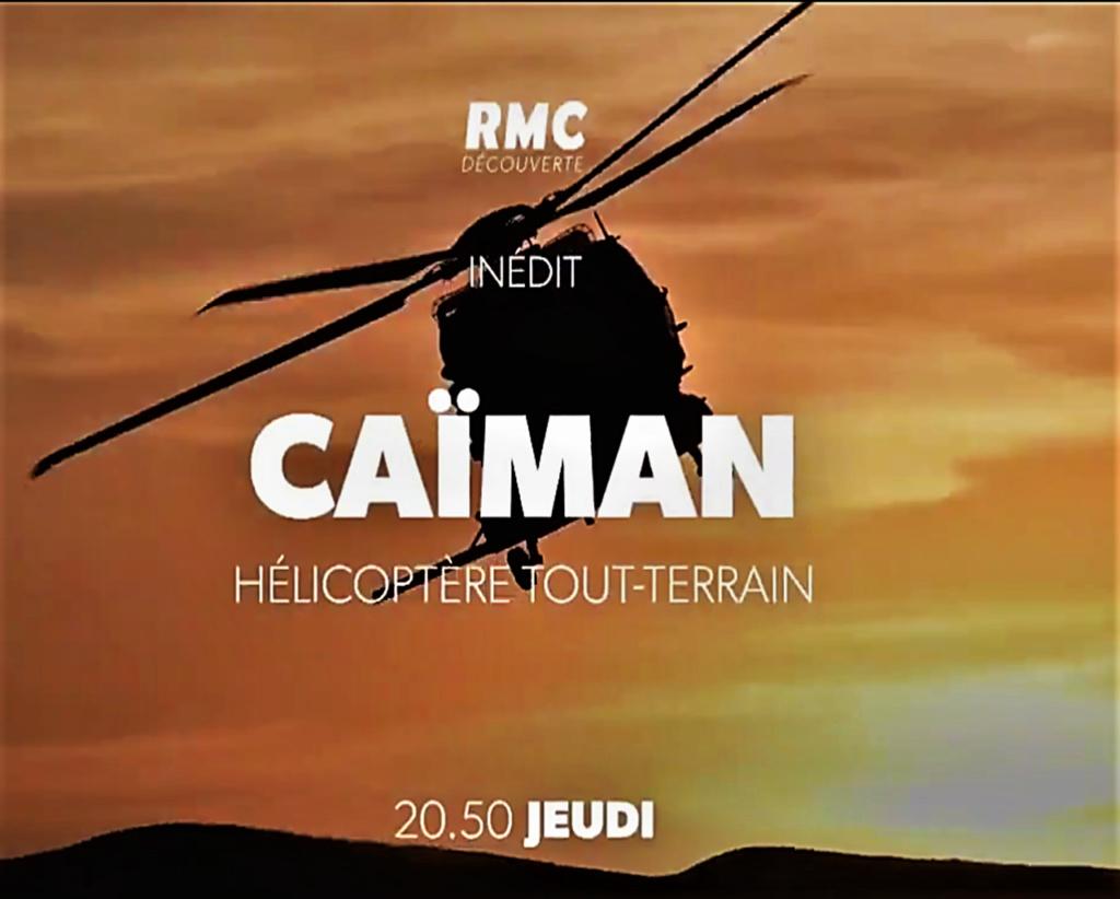 """Replay RMC découverte : """"Caïman, hélicoptère tout terrain"""" Image192"""