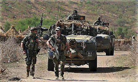 Déploiement au Mali d'une unité de FS irlandaise Image198