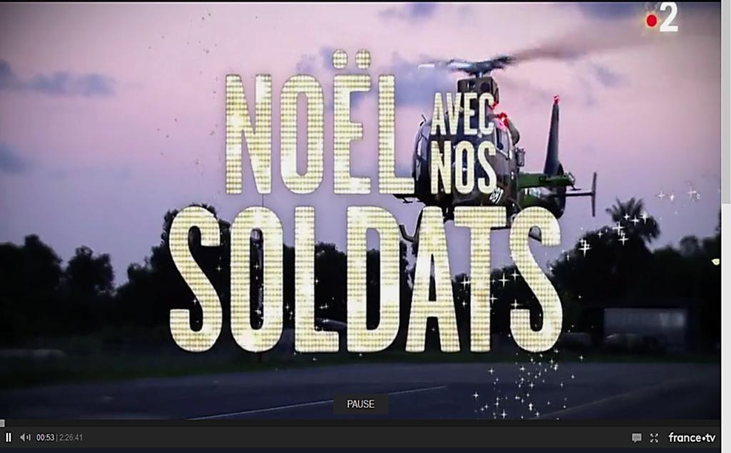 "Replay France 2 ""Noël avec nos soldats"" Image221"