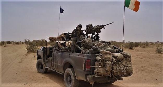Déploiement au Mali d'une unité de FS irlandaise Image237