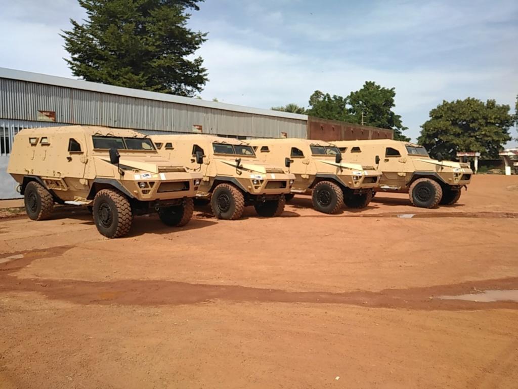 Livraison de 4 véhicules blindés BASTION au Burkina Faso Img_2045