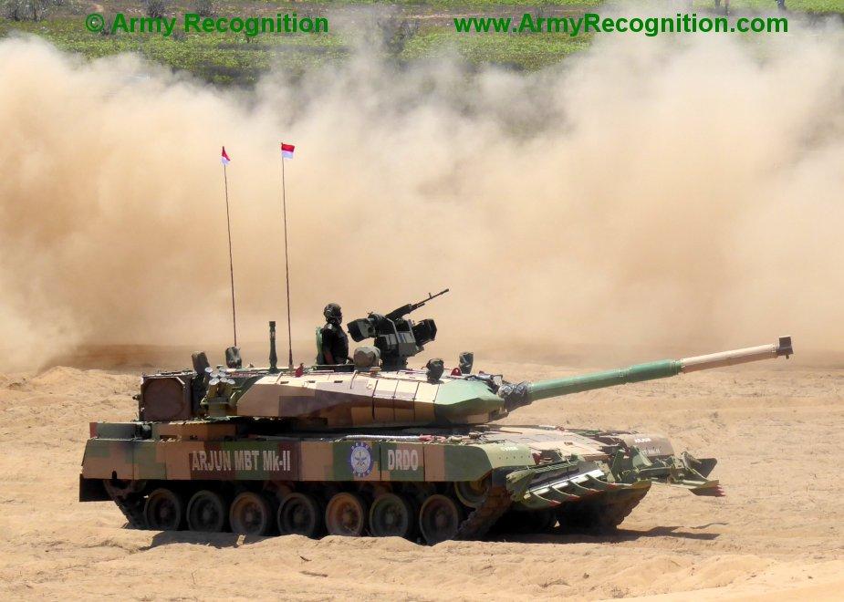 Le char de bataille indien Arjun prêt à entrer en production Indian10